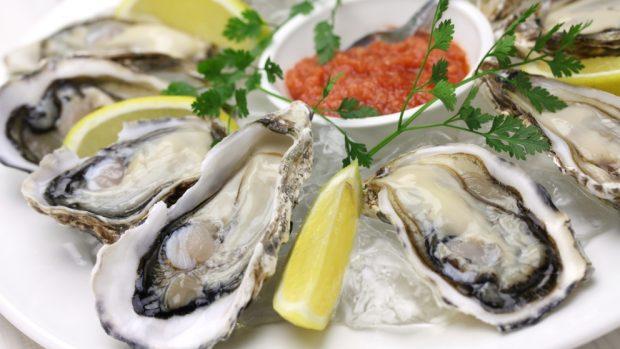 Receta de ostras al horno