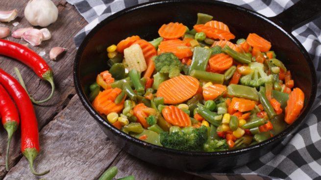 Receta De Salteado De Brocoli Con Zanahoria Son muy deliciosas azadas, hervidas, cocidas al. receta de salteado de brocoli con zanahoria