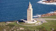 La Torre de Hércules en A Coruña, Patrimonio de la Humanidad.