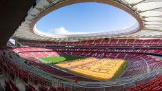 El estadio Wanda Metropolitano fue el escenario de la final de Champions.