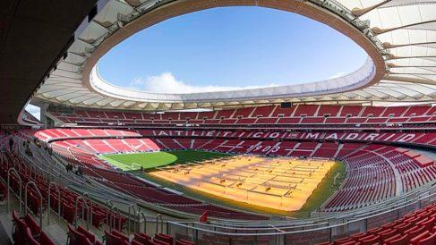 El estadio Wanda Metropolitano es el escenario de la final de Champions.