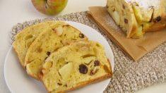 Receta de Bizcocho de avena y manzana