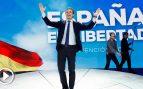 El presidente del PP, Pablo Casado, durante la clausura de la Convención Nacional del Partido Popular que se ha celebrado desde el viernes el Recinto Ferial IFEMA de Madrid. EFE