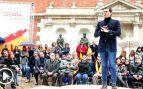 Albert Rivera durante su interención en el acto de España Ciudadana, este domingo en Valencia (Foto: EFE).
