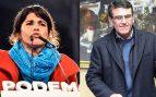 Un médico diputado de VOX auxilió a Teresa Rodríguez por su indisposición durante la investidura