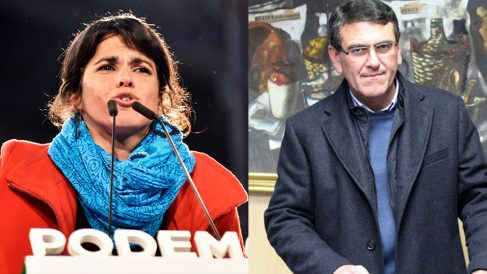 Teresa Rodríguez y Rafael Segovia