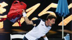 Pablo Carreño, tras su derrota en el Open de Australia. (Getty)