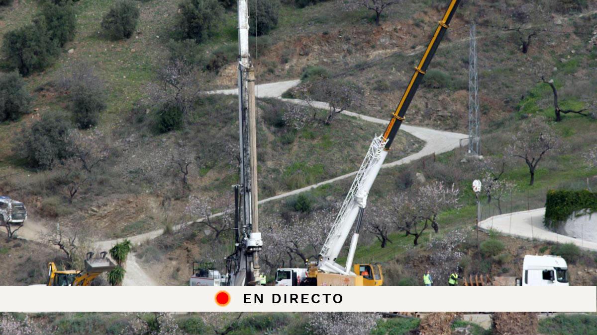 Sigue en directo la última hora de Julen, el niño que cayó en un pozo de Totalán, Málaga.