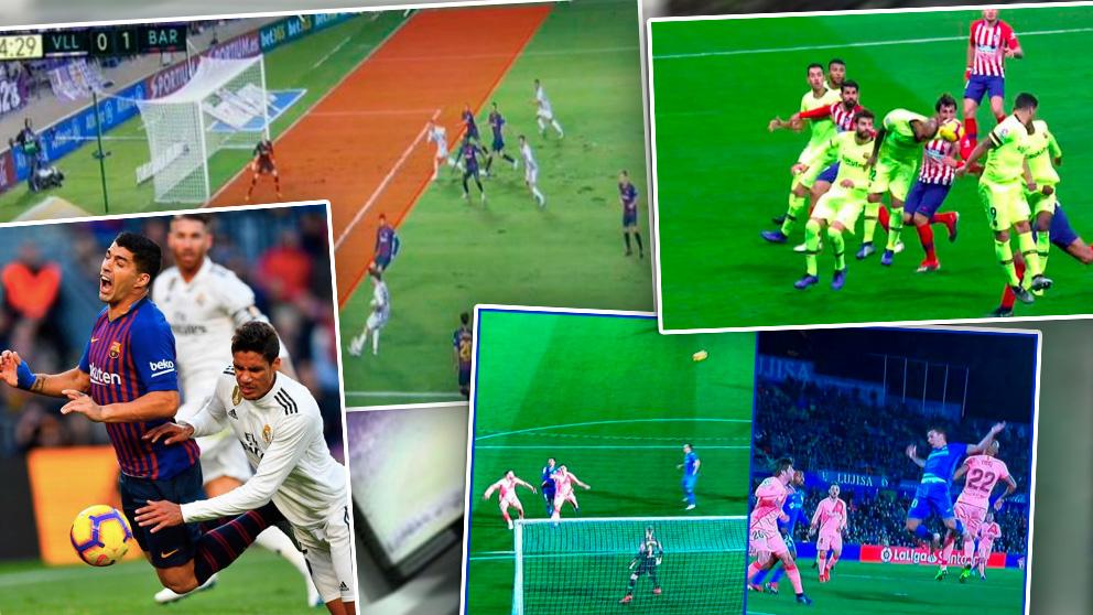 El VAR ha favorecido al Barcelona en varias ocasiones.