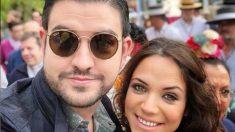 El humorista Manu Sánchez y su novia, Lorena Sánchez, son papás