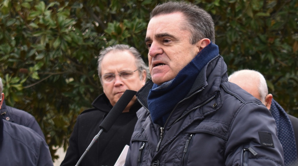 José Manuel Franco, delegado del Gobierno en Madrid. (Foto. PSOE)