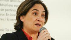 La alcaldesa en funciones Ada Colau. (Foto. Ayuntamiento de Barcelona)