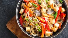 Receta de Tofu al sésamo