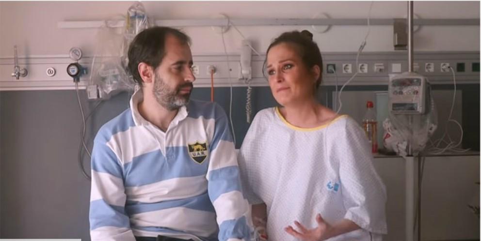 Verdeliss cuenta llorando el porqué está ingresada en la recta final de su embarazo