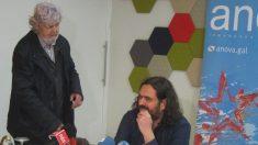 Xosé Manuel Beiras (izquierda) en una imagen reciente (EP).