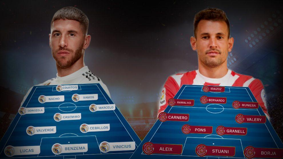 El Real Madrid se enfrenta al Girona en Copa del Rey.