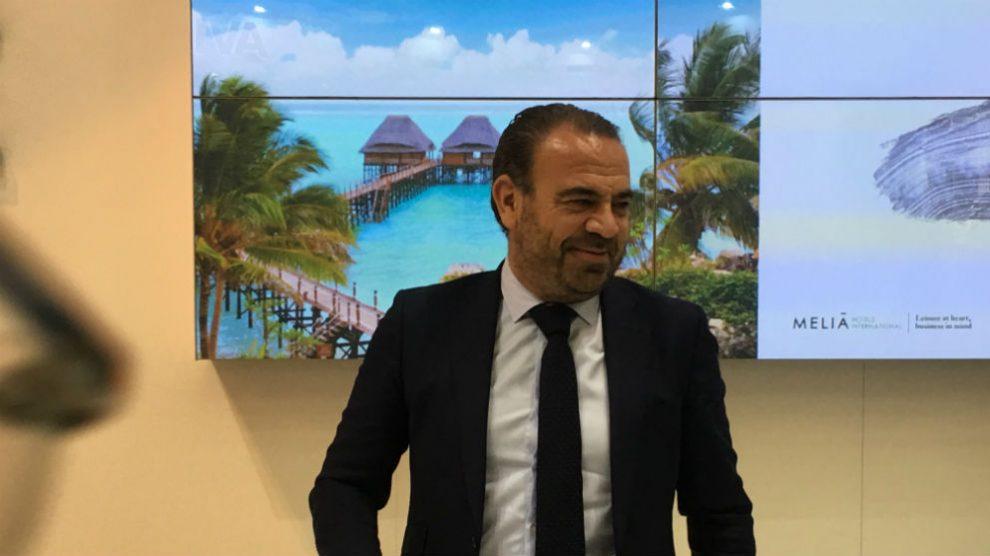 Gabriel Escarrer consejero delegado de Meliá Hoteles