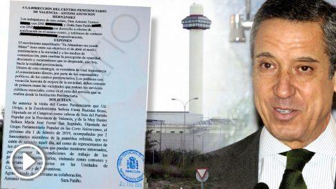 Políticos del PP visitarán la prisión de Zaplana.