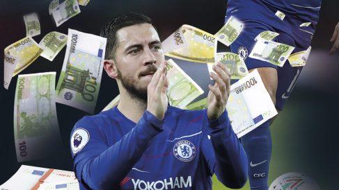 Eden Hazard puede ser un gran negocio para el Real Madrid.