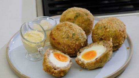 Receta de Huevos dorados