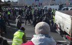 m-40-madrid-huelga-taxistas-policia-carga