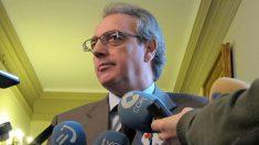El ex presidente del Gobierno de Navarra y de Caja Navarra Miguel Sanz. Foto: Europa Press