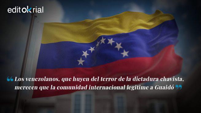 Acabemos con el terror y el hambre del dictador Maduro