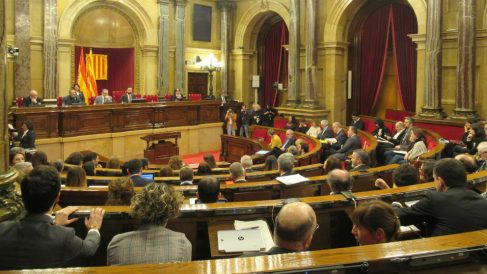 Parlamento de Cataluña (Foto: EP)