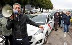 Un policía y un taxista heridos leves en los enfrentamientos a las puertas de Ifema