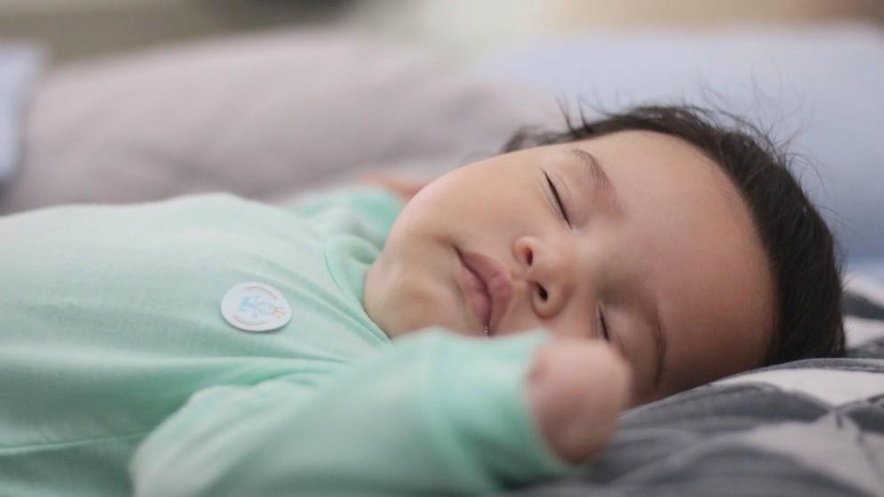 Imagen de archivo de un bebé