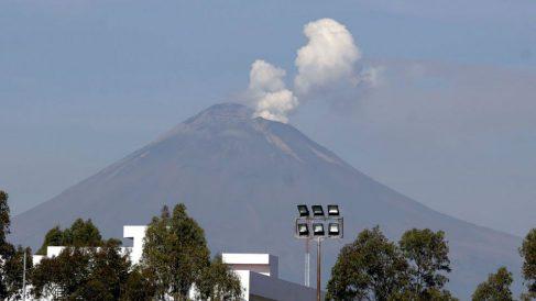 volcán Popocatépetl de México. Foto: EFE