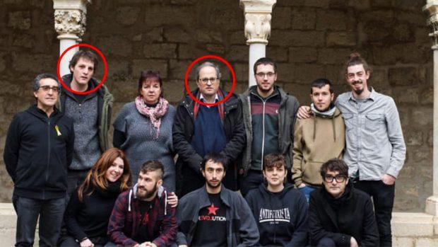 El sobrino CDR de Torra se encierra en la Universidad de Gerona para impartir talleres de autodefensa