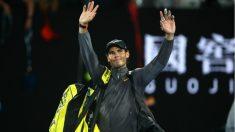 Rafa Nadal se emocionó tras ganar a Tsitsipas en la semifinal del Open de Australia. (Getty)