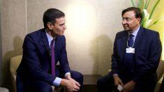 Pedro Sánchez participa en el Foro Económico de Davos. Foto: Europa Press