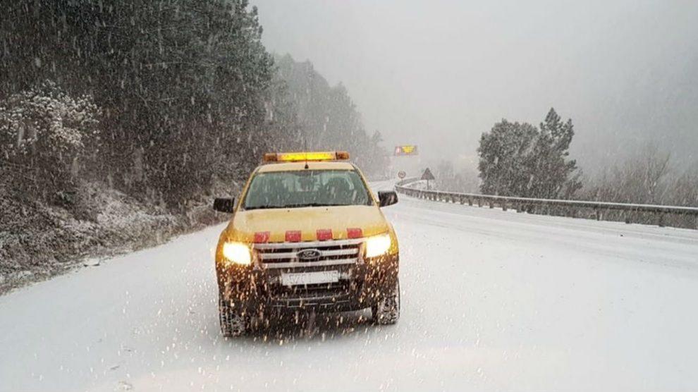 Temporal de nieve. Foto: Europa Press
