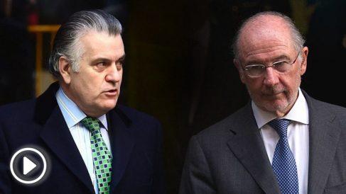 Luis Bárcenas y Rodrigo Rato.