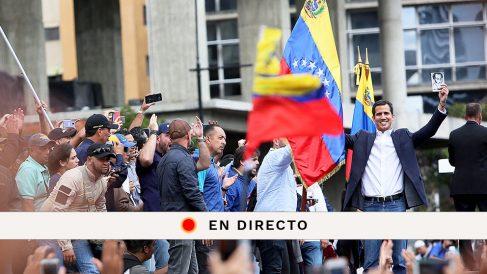 Sigue en directo la última hora de Venezuela tras la autoproclamación de Juan Guaidó como presidente encargado.