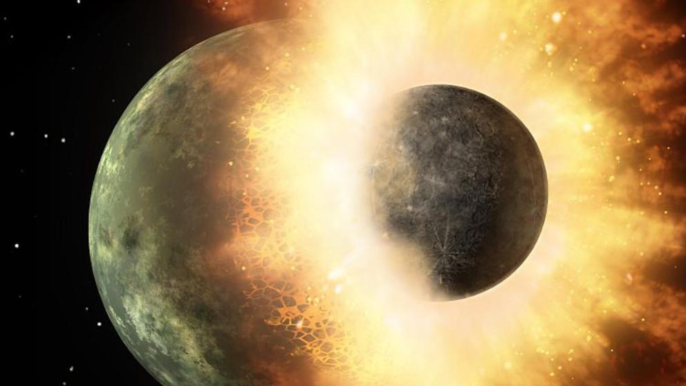 Una colisión planetaria trajo la vida a la Tierra según un nuevo estudio