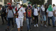 Protestas en Caracas. Foto: Europa Press