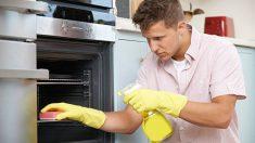 Guía de pasos para limpiar un horno electrico con productos naturales