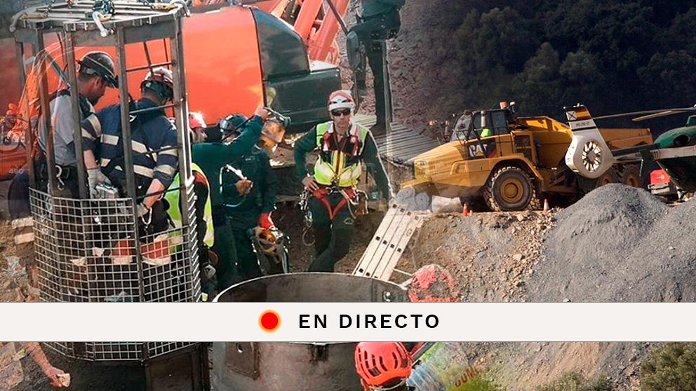 Sigue en directo la última hora del rescate del niño en el pozo de Totalán (Málaga)