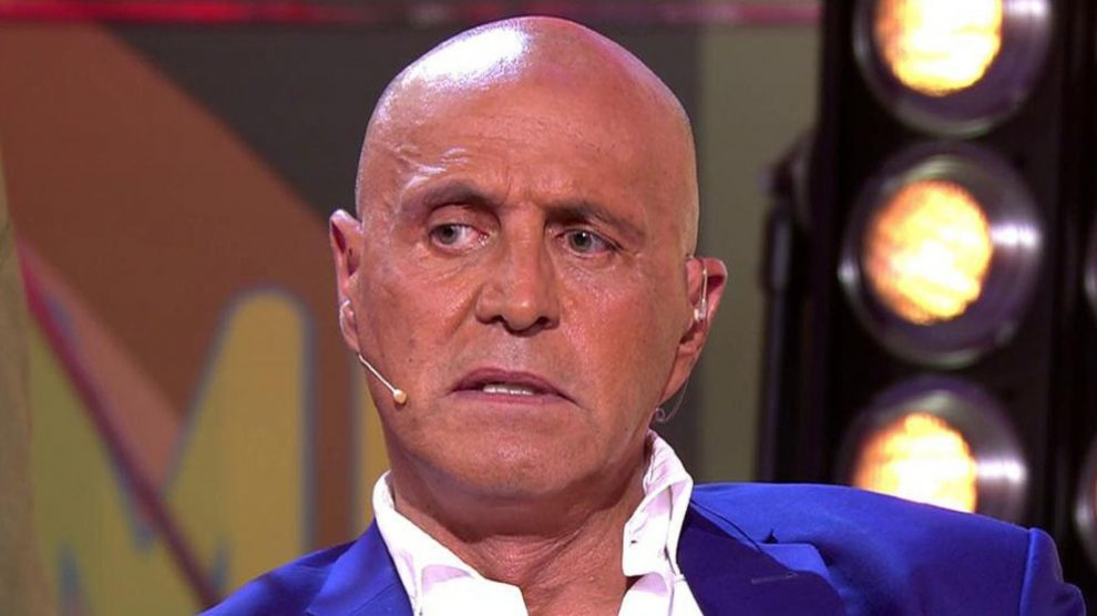 Kiko Matamoros en 'Sálvame' (Foto: Telecinco)