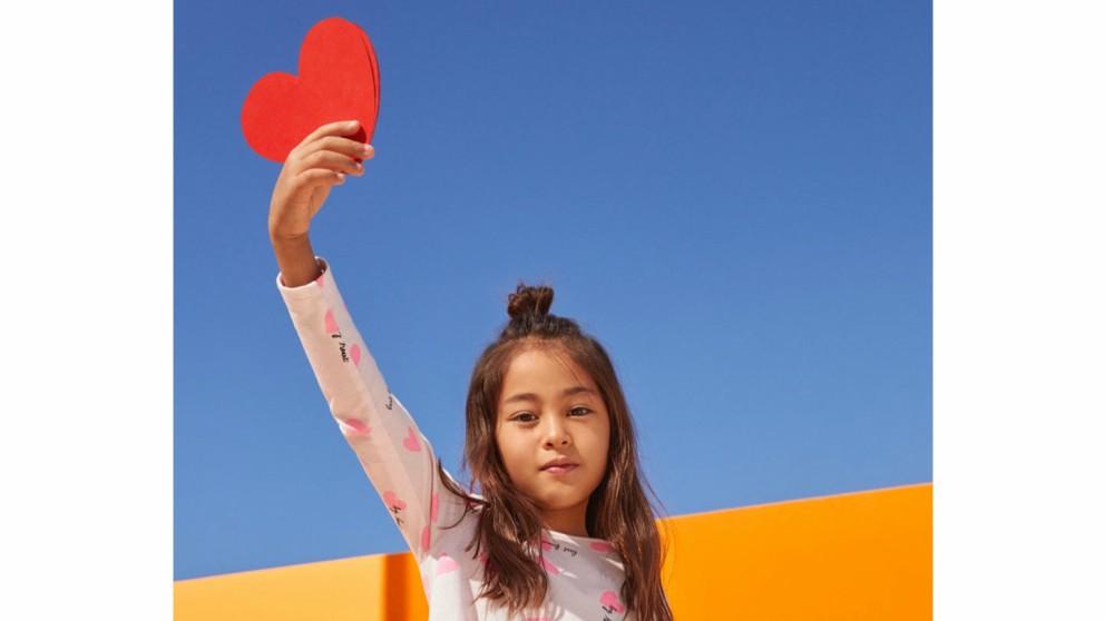 Viva el amor, nueva colección de H&M para niña
