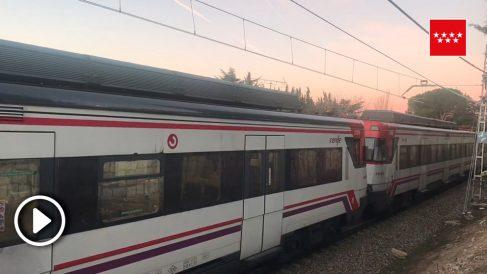Tren Collado-Mediano.