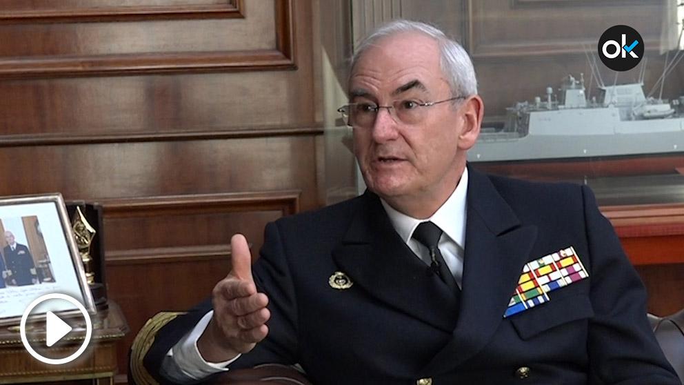 El Almirante General Teodoro López Calderón