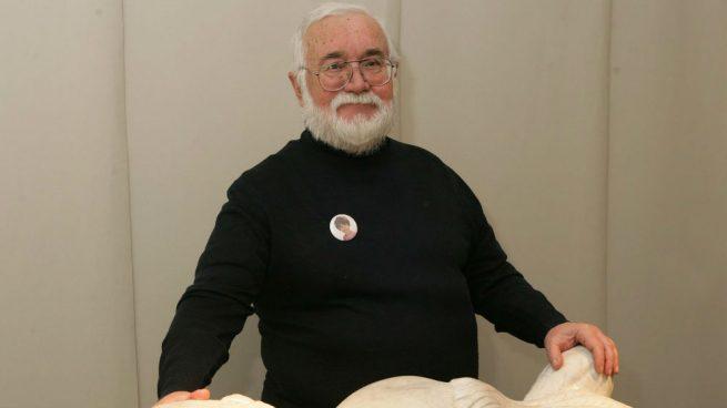 El pintor Antonio Camaró habla sobre su obra 'Homo Ethicus' en la Academia de los Nocturnos