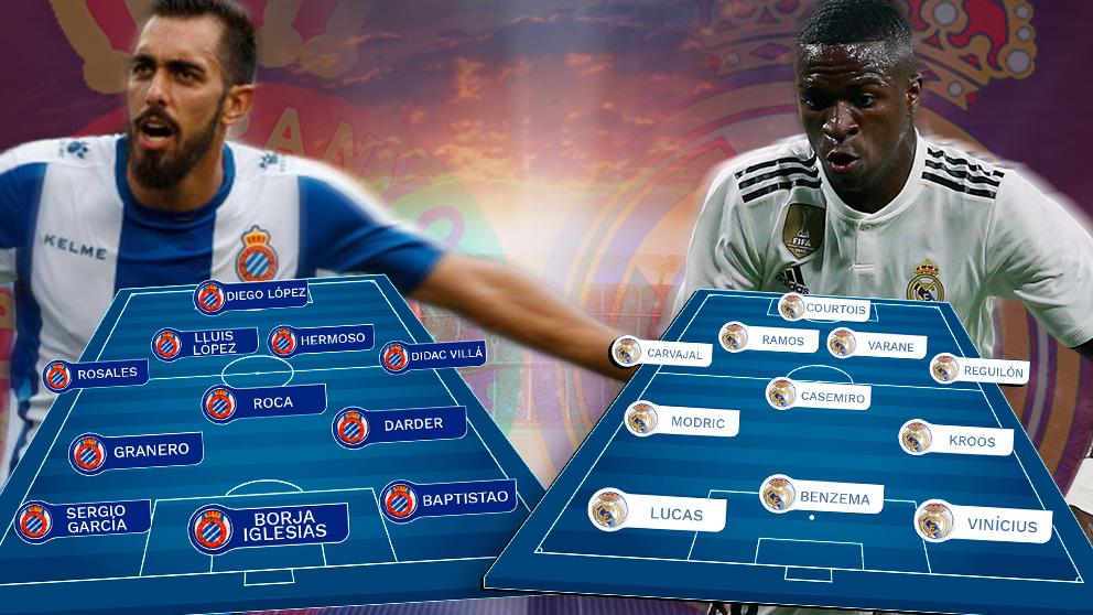 Espanyol y Real Madrid se enfrentan este domingo en Cornellá.