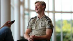 Frenkie de Jong. (AFP)