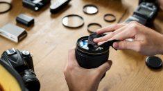 Consejos para limpiar la lente de la cámara