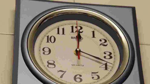 Las famosas manecillas del reloj.